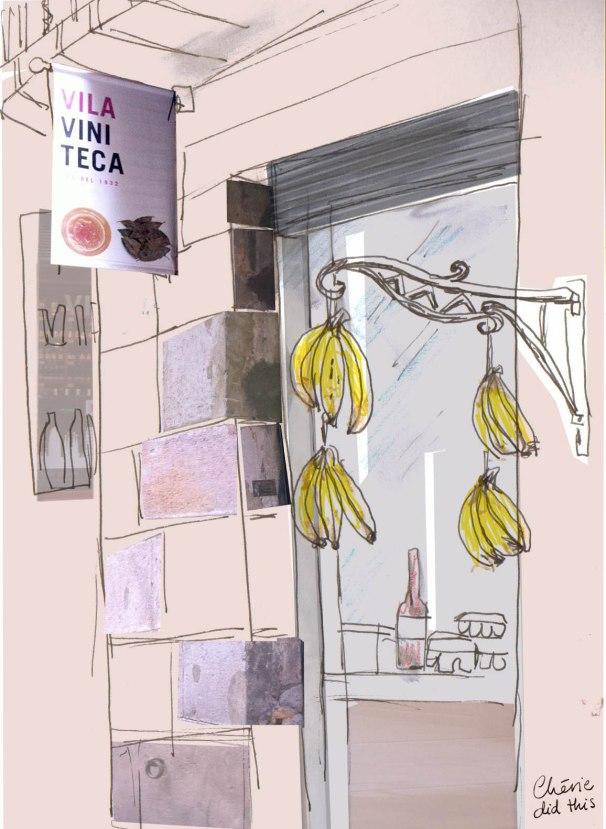 bananas by cherie
