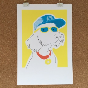 Doggy Dude Print