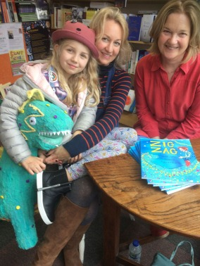 zig zag book launch
