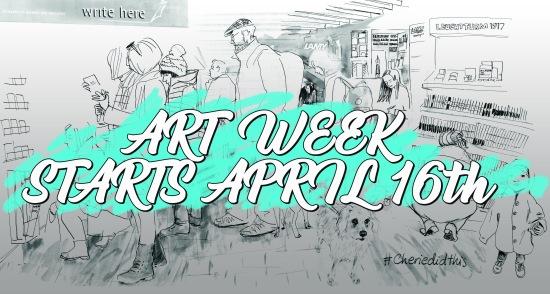 write here - ART WEEK 16th